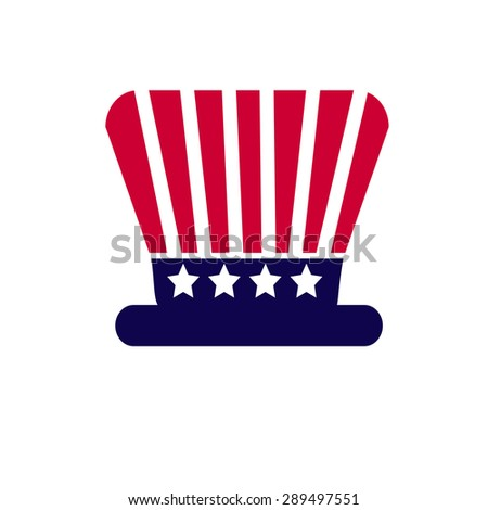 Independence Day American 4 th july, vector illustration