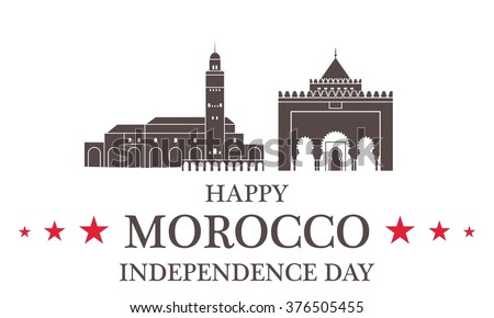 Independence Day. Morocco