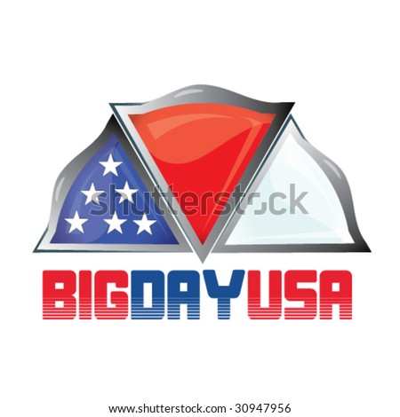 independence day symbol - stock vector