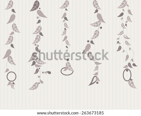 Indian feather dream catcher decoration. - stock vector