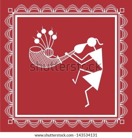 Warli Painting Stock Images, Royalty-Free Images & Vectors ...