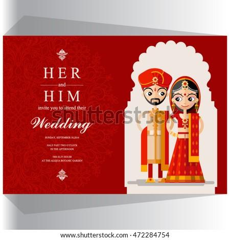 Indian wedding invitation card stock vector royalty free 472284754 indian wedding invitation card stock vector royalty free 472284754 shutterstock stopboris Images