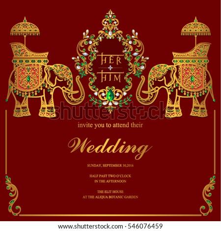 elephant wedding stock images royalty free images vectors shutterstock. Black Bedroom Furniture Sets. Home Design Ideas