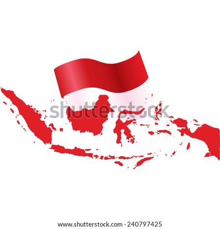 indonesia - stock vector