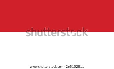 indonesia Flag for Independence Day and infographic Vector illustration. - stock vector