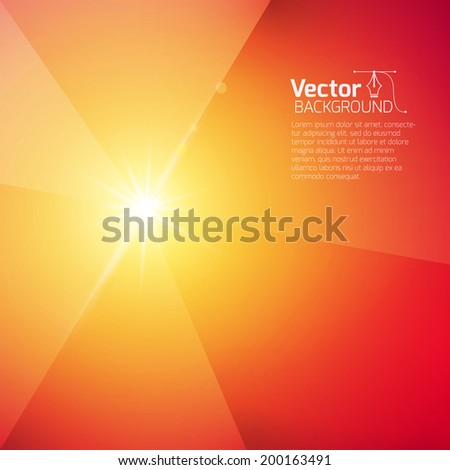 industrial background, heated metal - stock vector