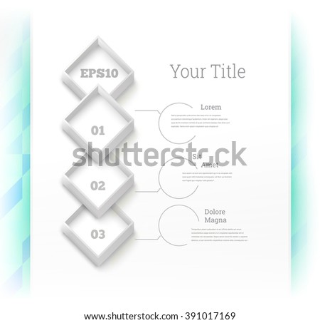 Industrial Visualization Sheet for Your Company - stock vector