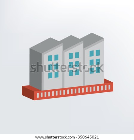 Industry design,three dimension,vector