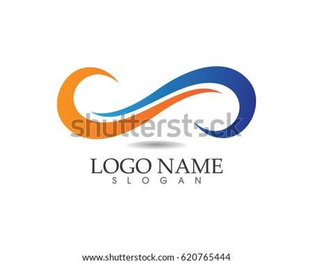 infinity logos stock vector 620765444 shutterstock rh shutterstock com infinity logistics memphis infinity logistics memphis