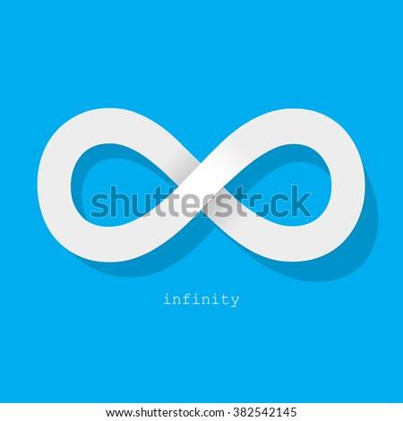 Infinity Symbol Stock Vector 304509422 - Shutterstock