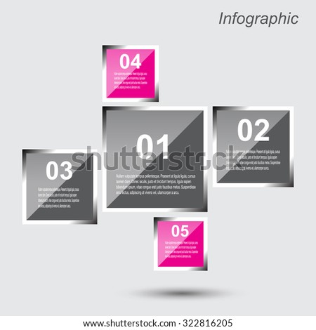 Info graphic design template. Idea to display, ranking and statistics.