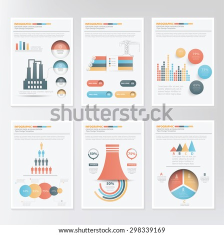 Info graphic elements design on clean background,clean vector - stock vector