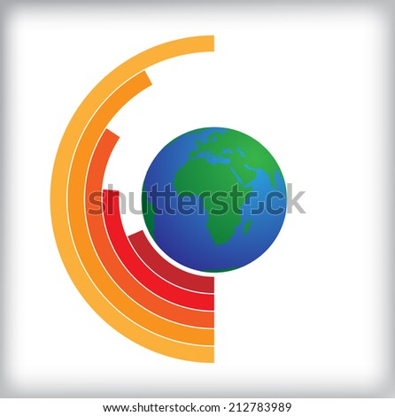 Info graphics element. Vector illustration.