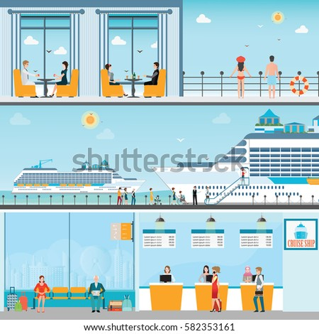 Cruise Ship Terminal Stock Images Royalty Free Images Amp Vectors Shutterstock
