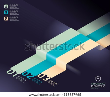 infographic arrow diagram chart. Detailed   / can be used for infographics / graphic or advertise layout vector - stock vector
