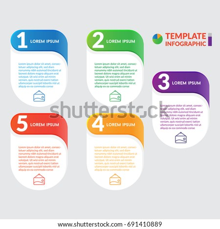 Infographic Design Stock Infographic Business Infographic Stock Vector 691410898 Shutterstock