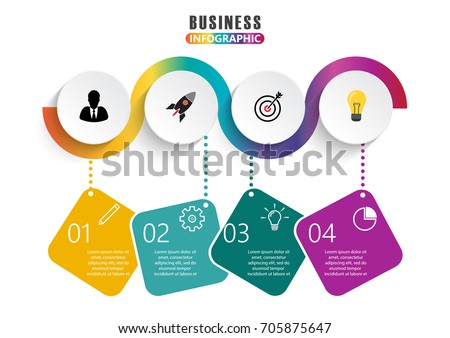 Infographic design vector marketing icons can stock vector 705875647 infographic design vector and marketing icons can be used for workflow layout diagram annual ccuart Image collections