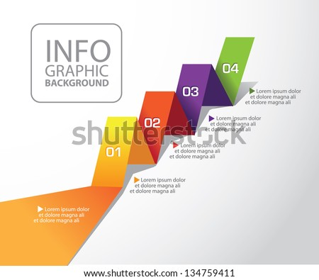 Infographic Element. EPS 8 vector, grouped for easy editing. No open shapes or paths. - stock vector