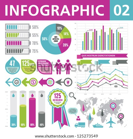 Infographic Elements 02 - stock vector