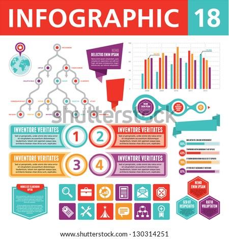 Infographic Elements 18 - stock vector