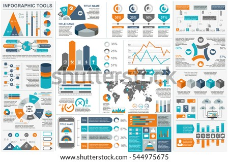 Infographic Elements Data Visualization Vector Design Stock Vector ...