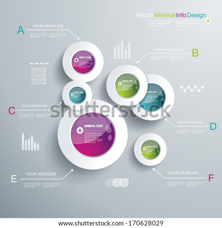 Infographic Elements, IT Industry Design.  - stock vector