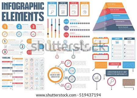 Infographic elements process infographics workflow diagrams em vetor infographic elements process infographics workflow diagrams em vetor stock 519437194 shutterstock ccuart Images