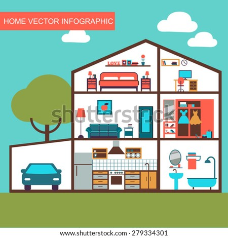 House Layout Stock Images Royalty Free Images Amp Vectors Shutterstock