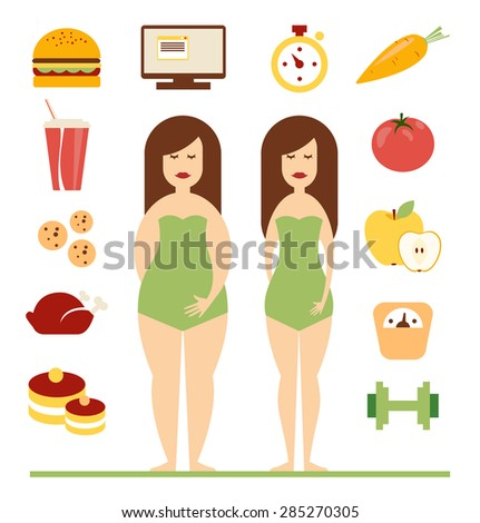 woman and diet