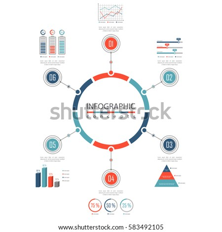 Infographic Timeline Template Can Be Used Stockvector 578170144 ...