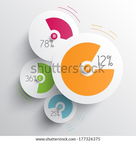 Infographic vector illustration - stock vector