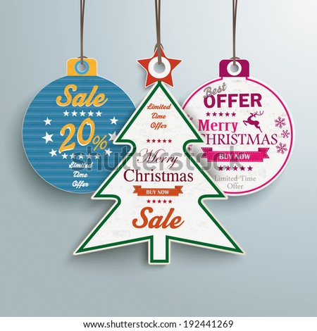 Infographic with price sticker the grey background. Eps 10 vector file. - stock vector