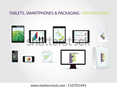Infographics - stock vector
