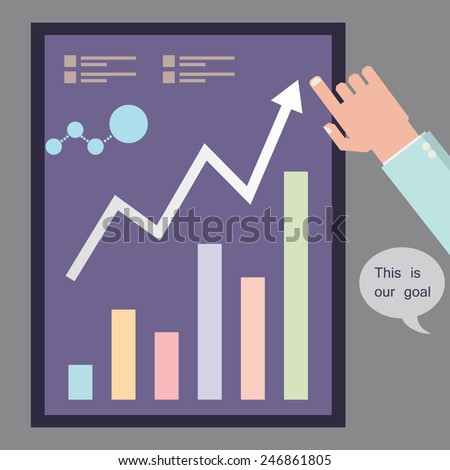 infographics analysis and planning purposes in business for big