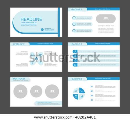 Infographics for leaflet, flyer, presentation, templates, web, marketing, business. Blue version. - stock vector