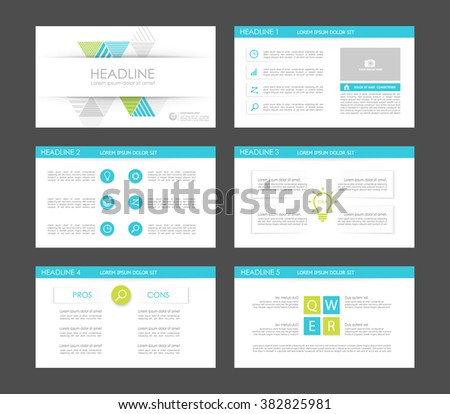 Infographics for leaflet,flyer,presentation,templates,web,marketing. Business infographics, cyan and green version. - stock vector