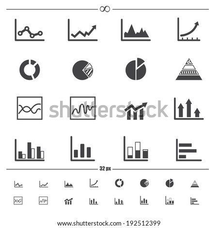 infographics icons .vector eps10 - stock vector