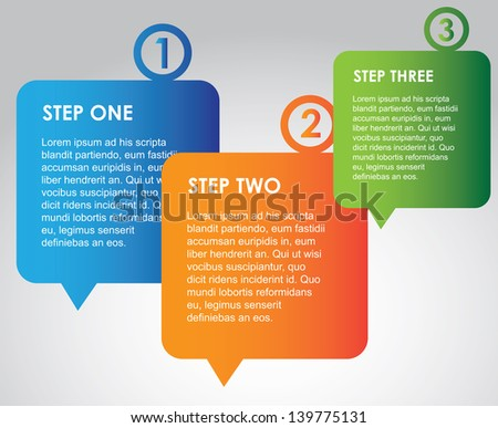 infographics options over gray background vector illustration