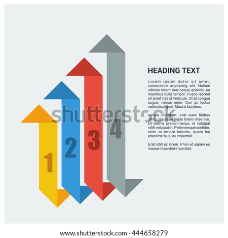 Information infographics presentation background design. Template for diagram, graph and chart. Business concept with 4 options, parts, steps or processes. Abstract background.
