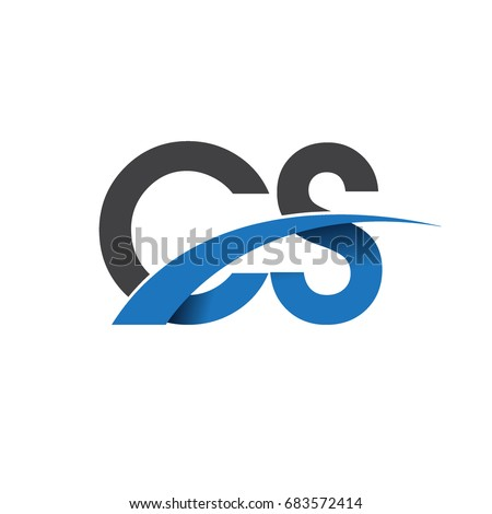 Initial Letter Cs Logotype Company Name Stock Vector 683572414