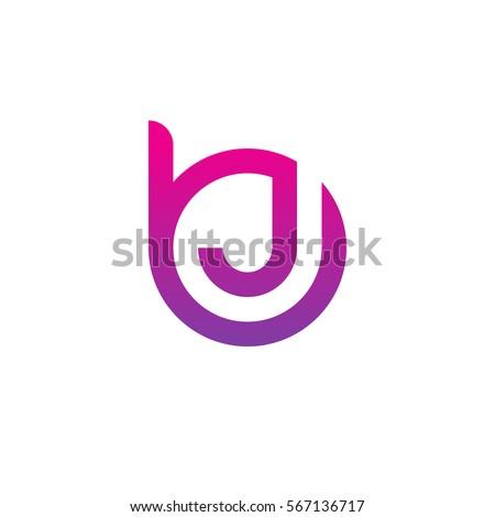 initial letter logo bj jb j stock vector 567136717 shutterstock rh shutterstock com bj logo bj's logo png