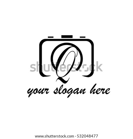 initial letter q icon logo vector stock vector 532048477