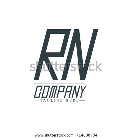 Initial letter rn design logo template stock vector 714808984 initial letter rn design logo template spiritdancerdesigns Choice Image