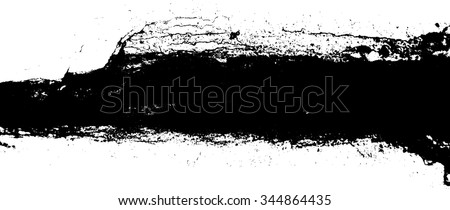 Ink Splash Grunge Urban Background.Texture Vector.Dust Overlay Distress Grain ,Simply Place illustration over any Object to Create grungy Effect .abstract,splattered , dirty,poster for your design.  - stock vector