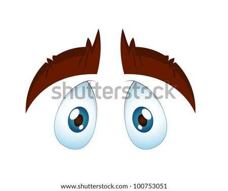 Innocent Eye - stock vector