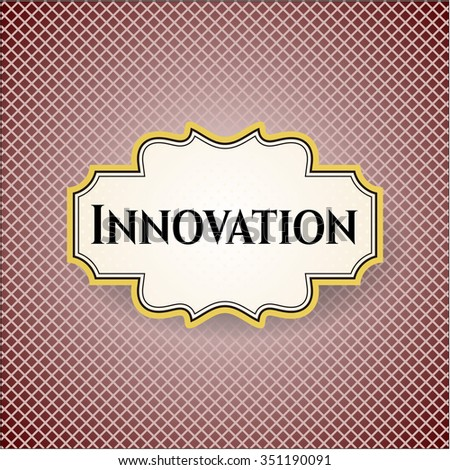 Innovation poster or banner - stock vector