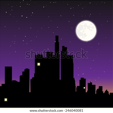 insomnia illustration - stock vector