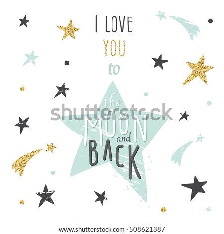 Romantic I Love You Quotes Magnificent Inspirational Motivational Romantic Love Quote Love Stock Vector