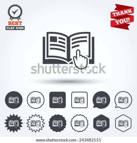 instructions for use symbol