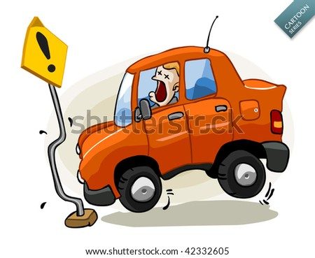 Insurance for Car Accident - stock vector